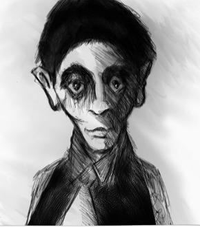 Franz Kafka by Antony Hare, 2003